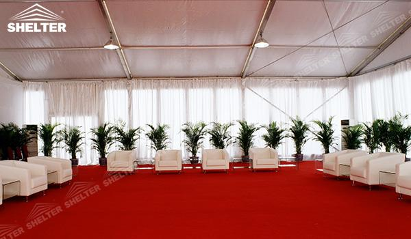 SHELTER Event Tent - White Event Tent - Commercial Marquee - Exhibition Hall - Aluminum Clear Span Structures - Large Fair Marquee for Sale (2)