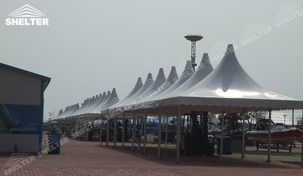 SHELTER Event Tent - White Event Tent - Sport Tents - Gazebo Tent - Lounge Tent - Commercial Marquee - Tents for Sale (3)