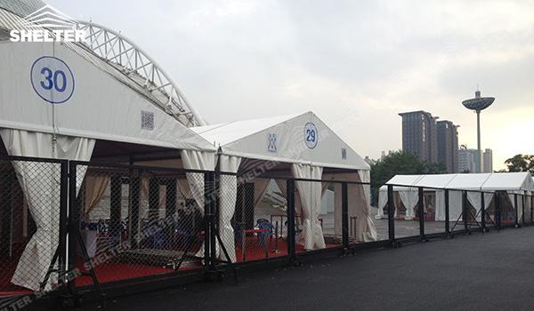 SHELTER Event Tent - Event Canopy Tent - Commercial Marquee - Exhibition Hall - Aluminum Clear Span Structures - Large Fair Marquee for Sale (3)