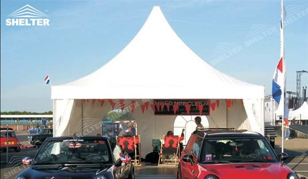 SHELTER Pagoda Tent - Pagoda Tents For Sale - Top Marquee - Chinese Hat Tents - Pinnacle Marquees -17