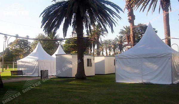 SHELTER Canopy Tent - Outdoor Shade Tent - Gazebo Tents - High Peak Marquee - Top Marquees -11