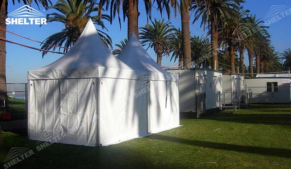 SHELTER Canopy Tent - Outdoor Shade Tent - Gazebo Tents - High Peak Marquee - Top Marquees -12