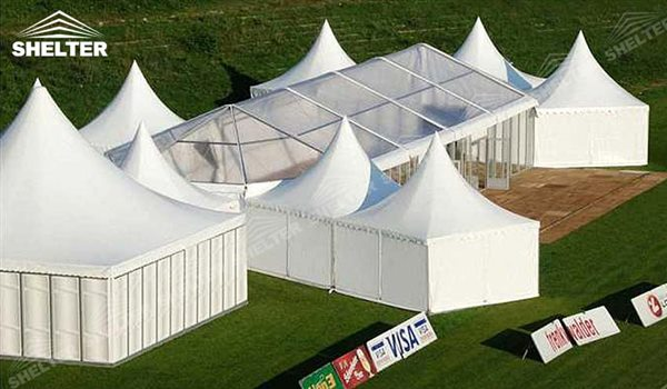 SHELTER Canopy Tent - Outdoor Shade Tent - Gazebo Tents - High Peak Marquee - Top Marquees -18