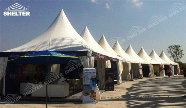 SHELTER Canopy Tent - Large Canopy Tent - Gazebo Tents - High Peak Marquee - Top Marquees - 26