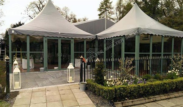 SHELTER Canopy Tent - Gazebo Tents - High Peak Marquee - Top Marquees - (3)