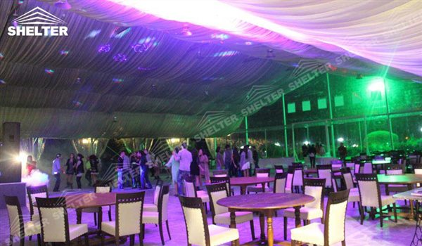 SHELTER Luxury Wedding Marquee - Large Weddings Tent - Party Marquees for Sale - Clear Wedding Tent- 136