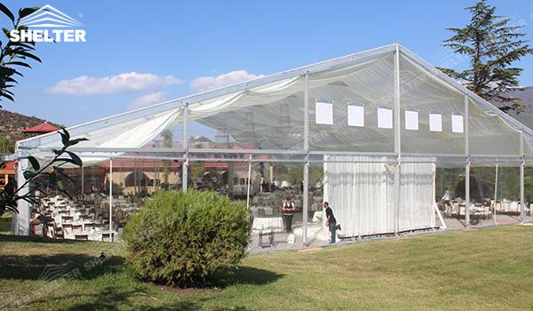 SHELTER Luxury Wedding Marquee - Transparent Tent - Large Weddings Tent - Party Marquees for Sale - (16)