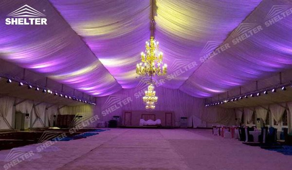 SHELTER Luxury Wedding Marquee - Tent For Party - Large Weddings Tent - Party Marquees for Sale - 160