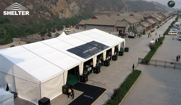 SHELTER Event Tent - Commercial Marquee - Exhibition Hall - Aluminum Clear Span Structures - Commercial Tents - Large Fair Marquee for Sale -16