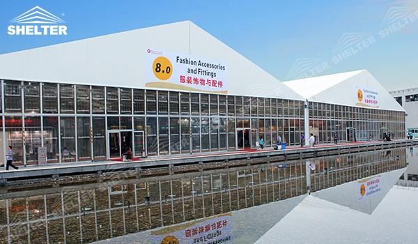 SHELTER Event Tent - Commercial Marquee - Exhibition Hall - Aluminum Clear Span Structures - Large Fair Marquee for Sale (3)