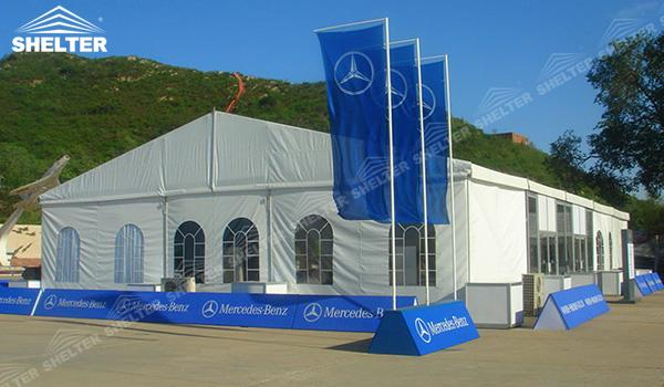 SHELTER Event Tent - Small Tent - Event Marquee - Commercial Marquee - Exhibition Hall - Aluminum Clear Span Structures - Large Fair Marquee for Sale - (5)
