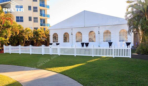 SHELTER Luxury Wedding Marquee - Outdoor Wedding Tent - Large Weddings Tent - Party Marquees for Sale - (1)