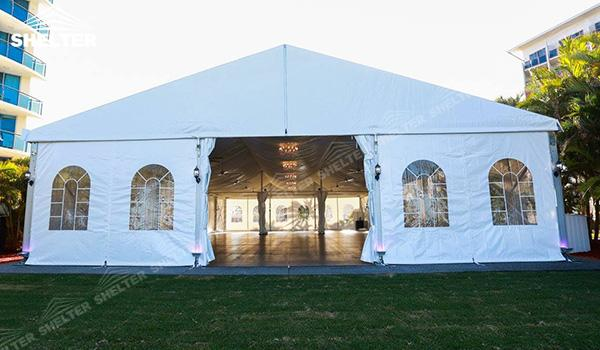 SHELTER Luxury Wedding Marquee - Outdoor Wedding Tent - Large Weddings Tent - Party Marquees for Sale - (3)