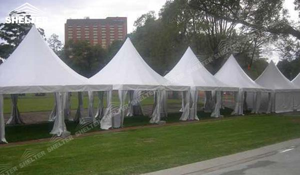 SHELTER Canopy Tent - Shade Canopy Tent - Gazebo Tents - High Peak Marquee - Top Marquees - (2)