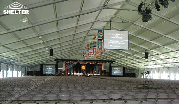 Large Marquee Tent For Events Outdoor Conference Venue