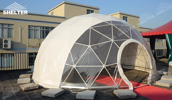 SHELTER Geodesic Domes - Marquee Tents - Dome Tent - Hemisphere Tents - Event Geodome for Sale - Wedding Marquee - Party Marquees