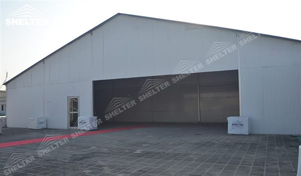 SHELTER Large Warehouse Tent - Marquee Tents - Temporary Storage Tents - Clear Span Building for Sale -5