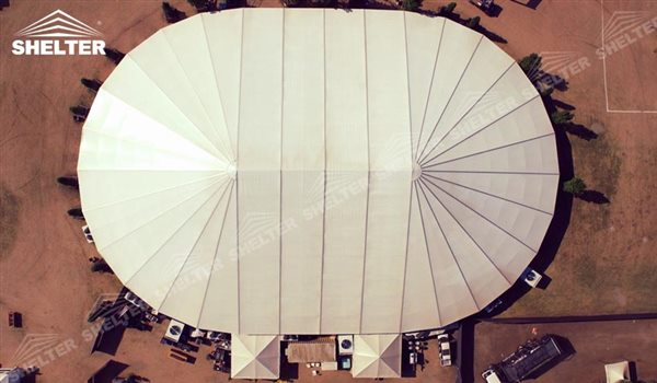 SHELTER Mixed Party Tent - Luxury Wedding Marquee - Party Marquee - Oval Tent - High Peak Tents - Bellend Tent - Yuma Tent for Sale -10