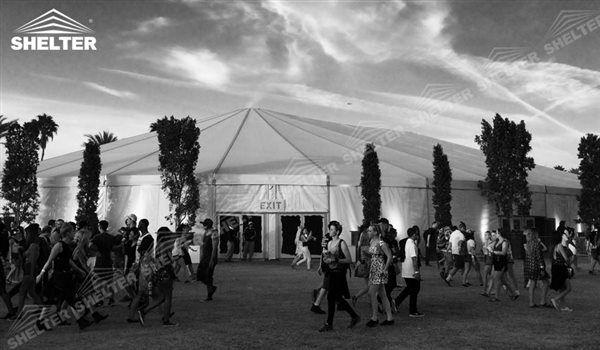 SHELTER Mixed Party Tent - Luxury Wedding Marquee - Party Marquee - Oval Tent - High Peak Tents - Bellend Tent - Yuma Tent for Sale -11