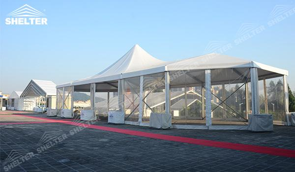 SHELTER Mixed Party Tent - Marquee Tents - Luxury Wedding Marquee - High Peak Tents - Bellend Tent - Yuma Tent for Sale