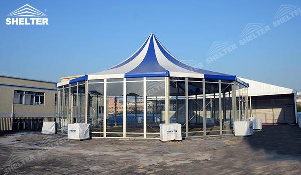 SHELTER Polygonal Tents - Marquee Tents - Octagon Marquee - Dodecagon Marquees