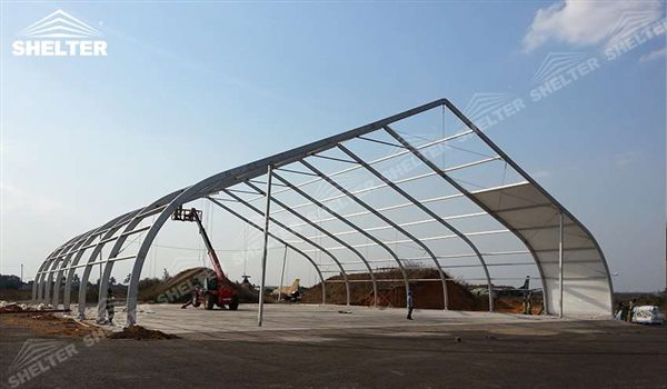 SHELTER Helicopter Hangar Tent - Aircraft Hangar - Aircraft Hangar Structures - Private Jet Hangar Structure - Airplane Hangar Tents for Sale (1)