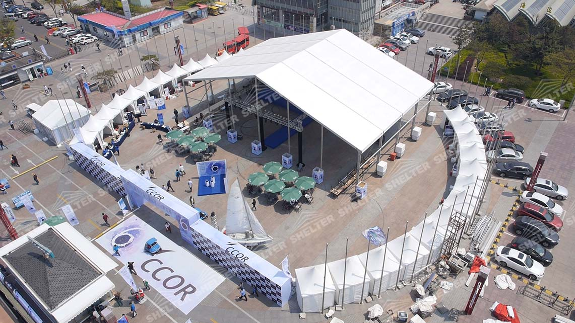 large event tent - lounge tents - shelter tent