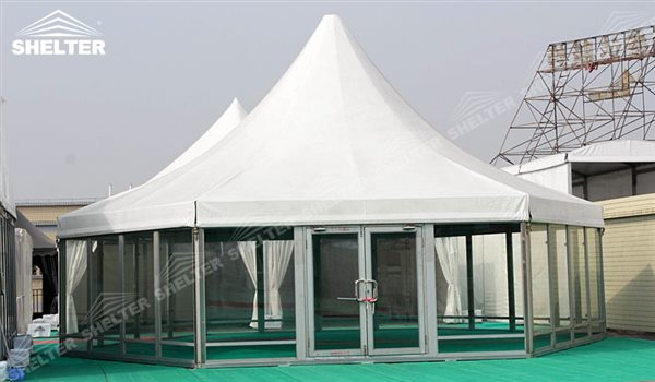 SHELTER Polygonal Tents - Marquee Tents - Octagon Marquee ...