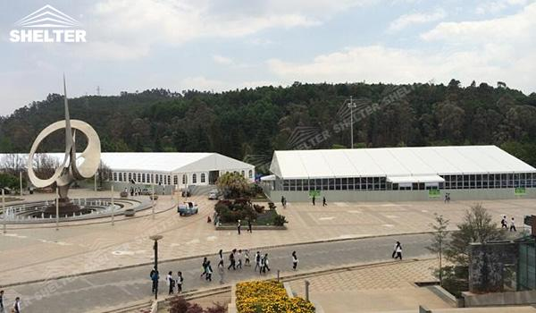 SHELTER Event Tent - Church Tents for Sale in South Africa - Commercial Marquee - Exhibition Hall - Aluminum Clear Span Structures - Large Fair Marquee for Sale (10)