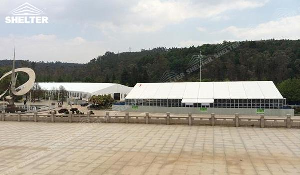 SHELTER Event Tent - Church Tents for Sale in South Africa - Commercial Marquee - Exhibition Hall - Aluminum Clear Span Structures - Large Fair Marquee for Sale (7)