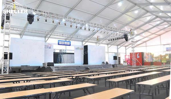 SHELTER Event Tent - Church Tents for Sale in South Africa - Commercial Marquee - Exhibition Hall - Aluminum Clear Span Structures - Large Fair Marquee for Sale (9)