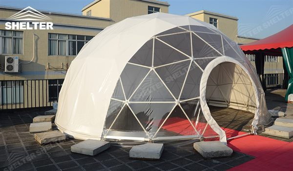 SHELTER Geodesic Domes - Geodesic Dome - Dome Tent - Hemisphere Tents - Event Geodome for Sale - Wedding Marquee - Party Marquees -1