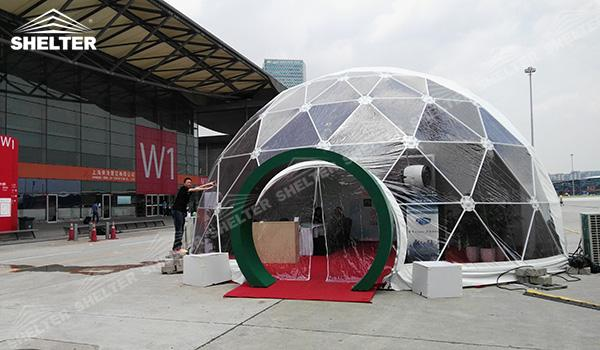 SHELTER Geodesic Domes - Geodesic Dome Tents - Dome Tent - Hemisphere Tents - Event Geodome for Sale - Wedding Marquee - Party Marquees (11)