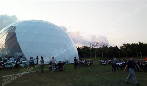 SHELTER Geodesic Domes - Dome Event Tent - Dome Tent - Hemisphere Tents - Event Geodome for Sale - Wedding Marquee - Party Marquees -15