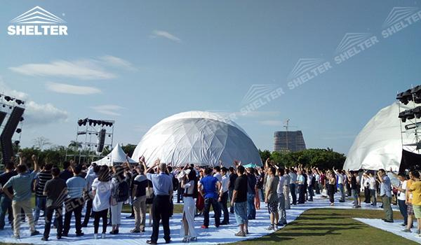 SHELTER Geodesic Domes - Event Domes - Dome Tent - Hemisphere Tents - Event Geodome for Sale - Wedding Marquee - Party Marquees (18)