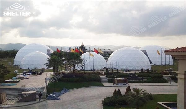 SHELTER Geodesic Domes - Event Dome - Dome Tent - Hemisphere Tents - Event Geodome for Sale - Wedding Marquee - Party Marquees - 25