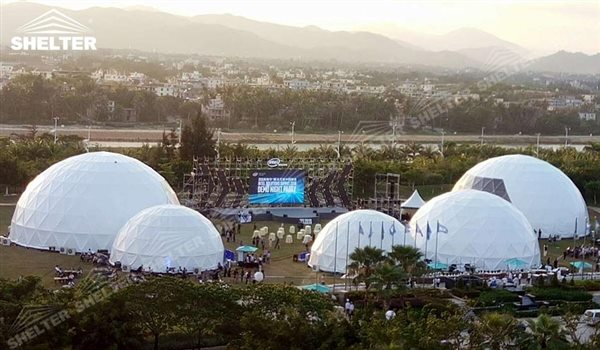 SHELTER Geodesic Domes - Event Dome - Dome Tent - Hemisphere Tents - Event Geodome for Sale - Wedding Marquee - Party Marquees -6
