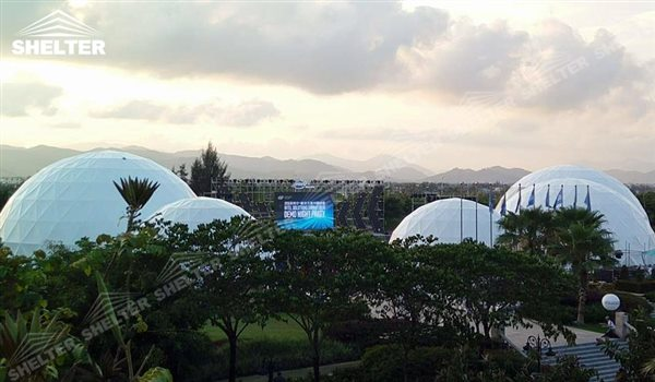 SHELTER Geodesic Domes - Event Dome - Dome Tent - Hemisphere Tents - Event Geodome for Sale - Wedding Marquee - Party Marquees - 7