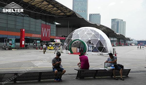 SHELTER Geodesic Domes - Geodesic Dome Tents - Dome Tent - Hemisphere Tents - Event Geodome for Sale - Wedding Marquee - Party Marquees (8)