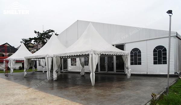 SHELTER Luxury Wedding Marquee - Church Building - Large Weddings Tent - Party Marquees for Sale - (1)
