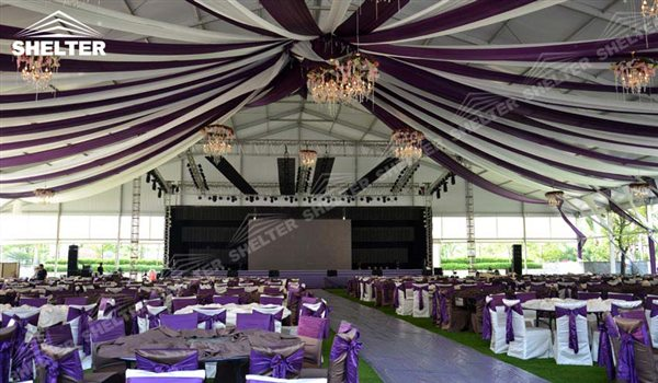 SHELTER Luxury Wedding Marquee - Church Tent - Large Weddings Tent - Party Marquees for Sale -131