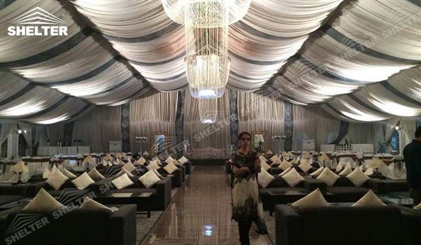 SHELTER Mixed Party Tent - Tents for Churches - Luxury Wedding Marquee - High Peak Tents - Bellend Tent - Yuma Tent for Sale -141