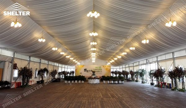 SHELTER Mixed Party Tent - Temporary Church Buildings - Luxury Wedding Marquee - High Peak Tents - Bellend Tent - Yuma Tent for Sale - 24