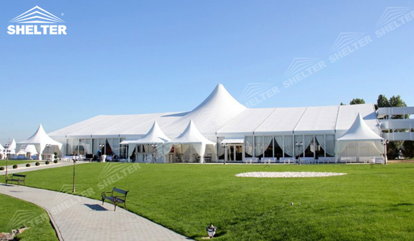 SHELTER Mixed Party Tent - Temporary Church Structures - Luxury Wedding Marquee - High Peak Tents - Bellend Tent - Yuma Tent for Sale -31