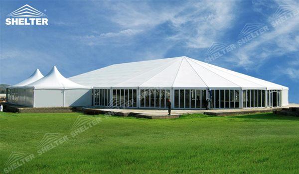 SHELTER Mixed Party Tent - Temporary Church Buildings - Luxury Wedding Marquee - High Peak Tents - Bellend Tent - Yuma Tent for Sale -4