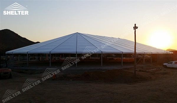 SHELTER Mixed Party Tent - Temporary Church Buildings - Luxury Wedding Marquee - High Peak Tents - Bellend Tent - Yuma Tent for Sale - 7