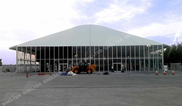 SHELTER arch tent - arch clear span tent - arcum tents - large event marquee - wedding marquees for sale - 29