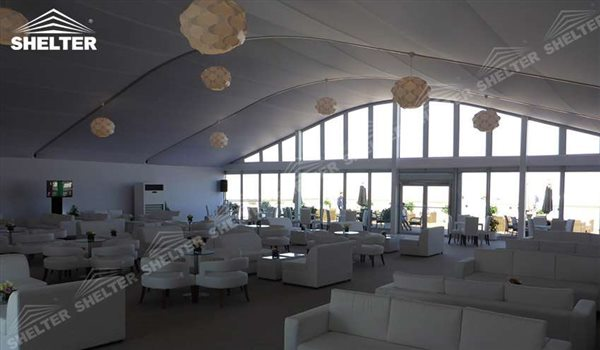 arch tent - arcum tent - clear span tent - commercial marquee - Shelter event marquees for sale (4)