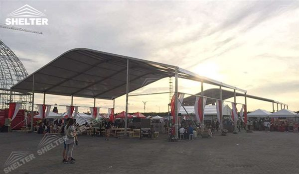 SHELTER Arch Tent - Arcum Tents - Clear Span Tent - Commercial Marquee - Event Marquees for Sale - Arch Tent Frame - 3