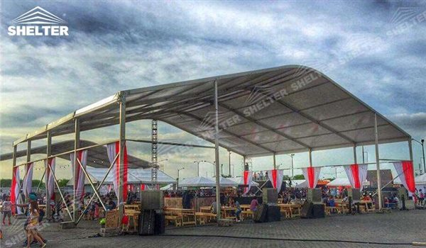 SHELTER Arch Tent - Arcum Tents - Clear Span Tent - Commercial Marquee - Event Marquees for Sale - Arch Tent Frame - 2